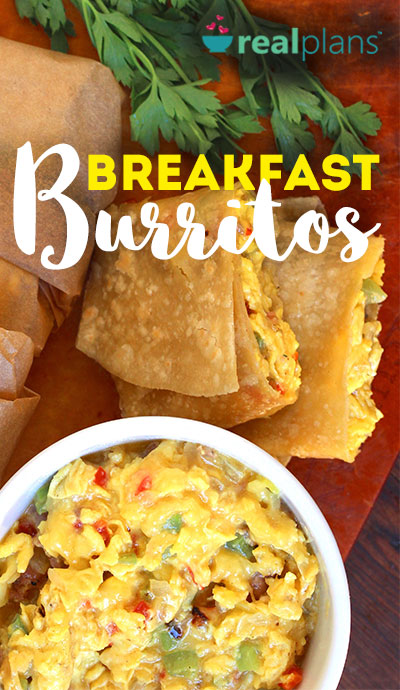 Make Ahead Breakfast Burritos (DF & GF)