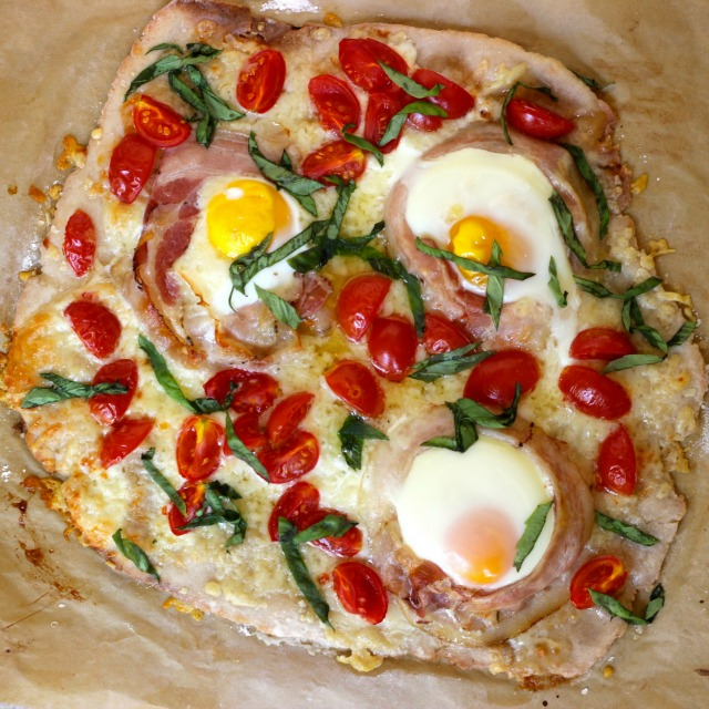 Breakfast Pizza with Pancetta Recipe | Real Plans