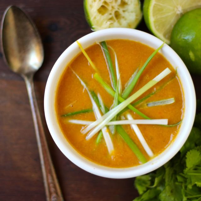 Carrot Ginger Soup (AIP)