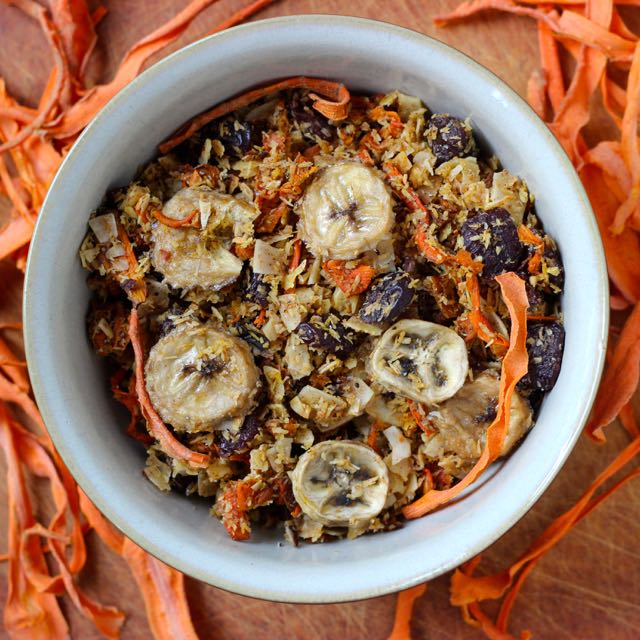 Coconut Carrot Granola - Real Plans