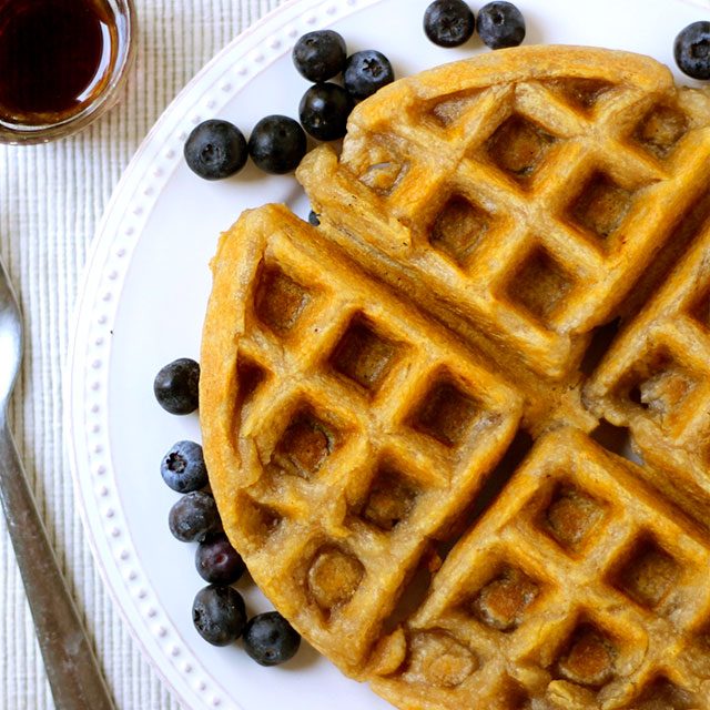 Cassava Waffles - Real Plans