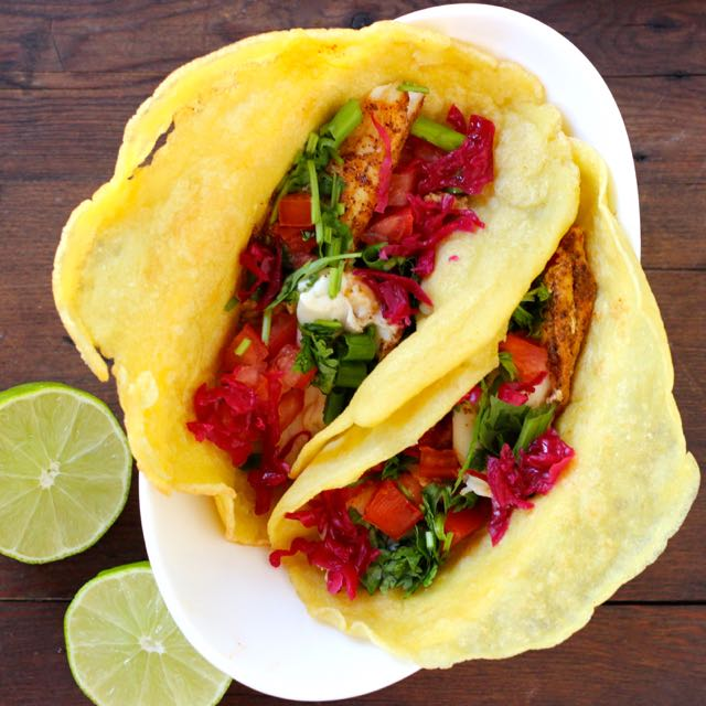 White fish tacos recipe real plans for White fish tacos