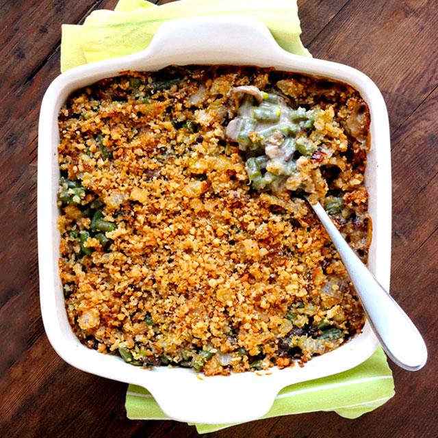 how to make homemade green beans casserole