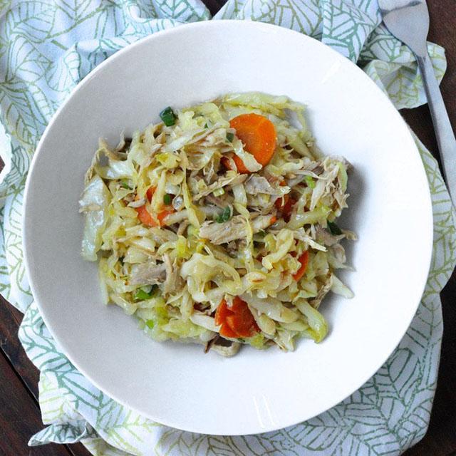 Asian Turkey Hash