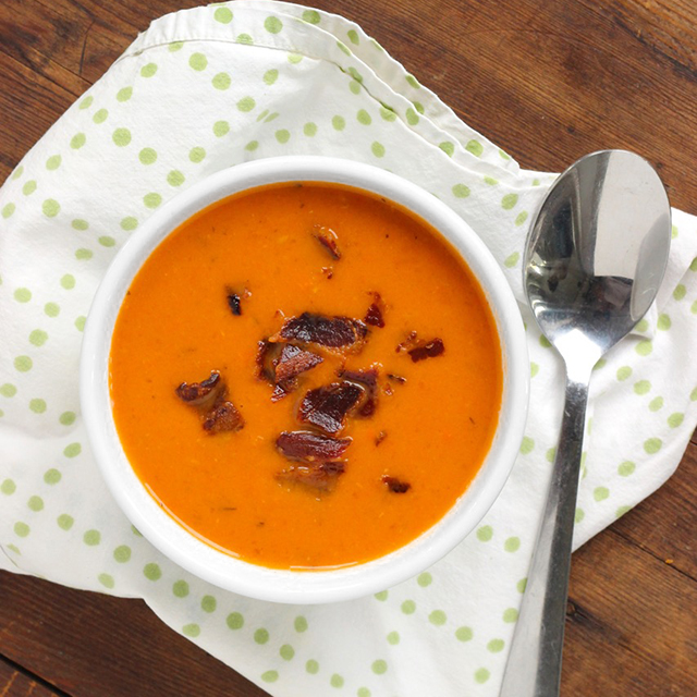 Tomato Bacon Soup