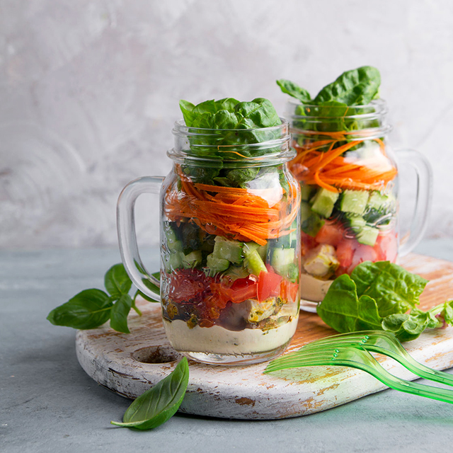 How To Make A Mason Jar Salad (And Why You'd Want To) - Real Plans