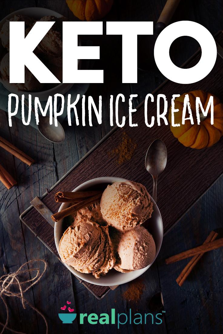 Pumpkin Ice Cream (Keto)