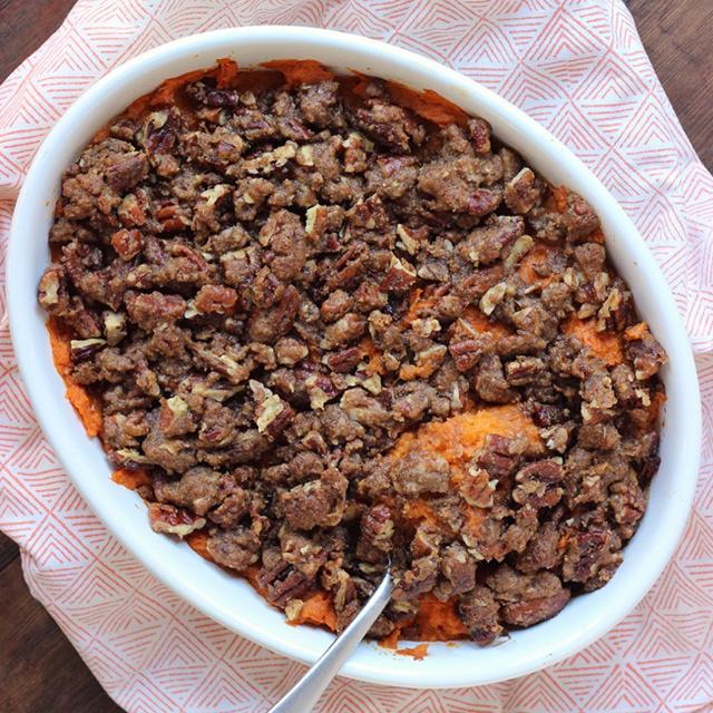 Sweet Potato Casserole (Dairy Free)